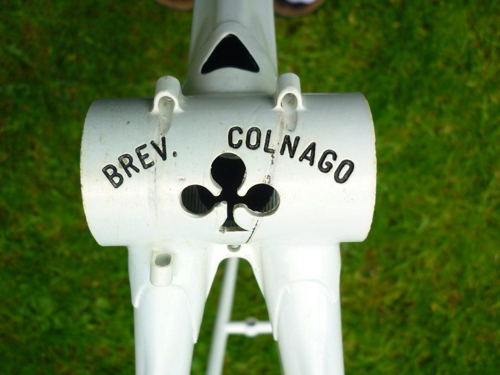 Eine Colnago Tretlager-Muffe