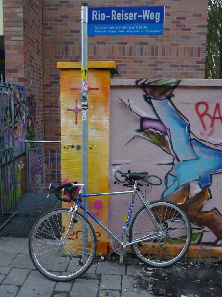 Stahl Rennrad fahren in Unna